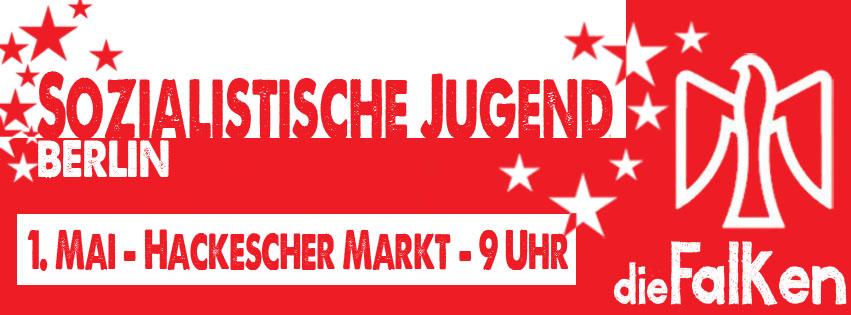 1.Mai Gewerkschaftsdemo Falken Berlin