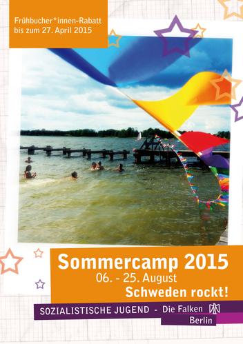 Sommercamp 2015 Falken Berlin